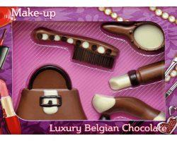 Novelty Luxury Belgian Chocolate Make Up Set
