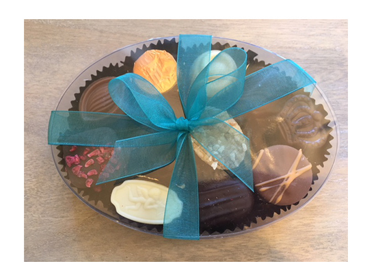 Assortment of Belgian Chocolates in oval cello featured image